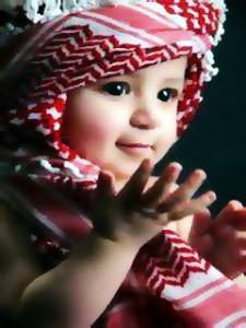 Foto Bayi Muslim Lucu Anak Laki-Laki Tampan